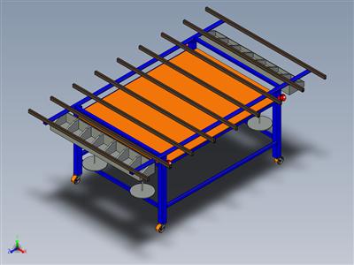 铝框装配台